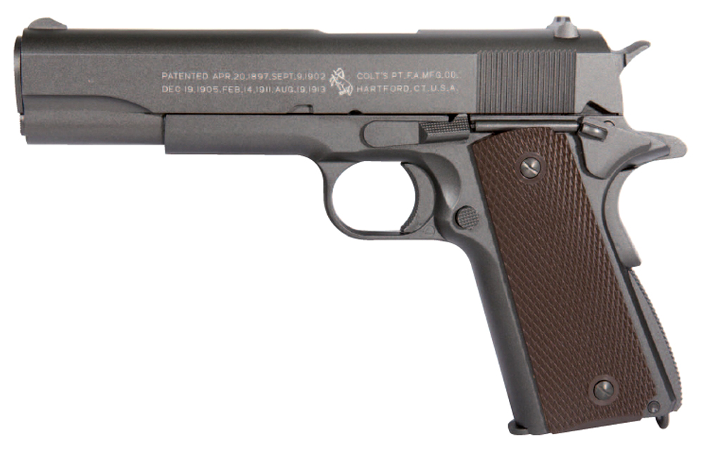 Colt M1911 A1 Full Metal GBB Airsoft Pistol by KWC - AirarmSports.com