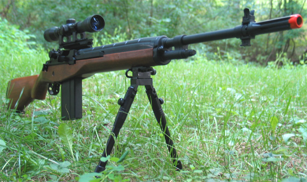 M14 Spring Airsoft Sniper Rifle Review