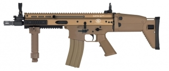 FN SCAR-L CQB Airsoft AEG Rifle Tan