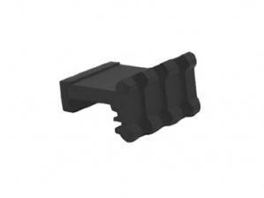 Lion Gears Tactical Picatinny 90 Degree Angle Mount, 3 Slots, Low Profile