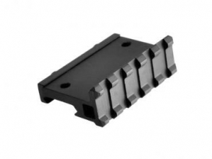 Lion Gears Tactical Picatinny 90 Degree Angle Mount, 5 Slots, Low Profile