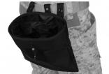 Lancer Tactical Large Foldable Dump Pouch Black