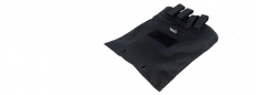 Lancer Tactical CA-341B Large Foldable Dump Pouch Black