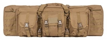 "Lancer Tactical Molle 36"" Double Gun Bag (Tan)"