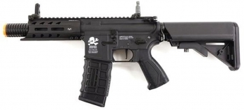 G&G ARP 556 Death Machine Mark 2 M4 Airsoft PDW AEG Black (Gun Only)