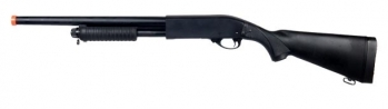 Well Remington 870 Full Metal Airsoft Spring Shotgun