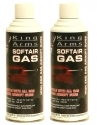 King Arms Airsoft Green Gas Dual Pack