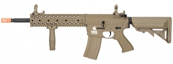 Lancer Tactical Gen 2 EVO RIS M4 AEG Quad Rail Tan