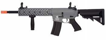 Lancer Tactical Gen 2 EVO RIS M4 AEG Quad Rail Gray