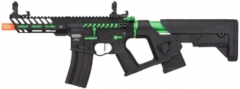 Lancer Tactical Enforcer NEEDLETAIL Skeleton AEG Green
