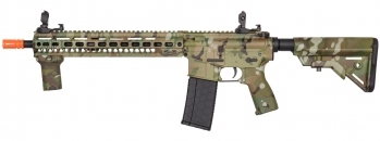 "Lancer Tactical MK4 SMR 14.5"" Black Jack Carbine AEG (Camo)"