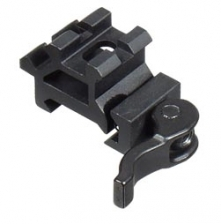 UTG LE Double Rail/Single Slot Angle Mount w/ QD Lever Lock