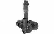 UTG Special Ops Universal Tactical Leg Holster, Black, Left Handed