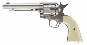 Colt Peacemaker SAA Metal CO2 Revolver, Nickel