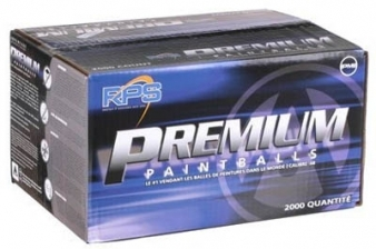 RPS Premium 2000 Count Paintballs