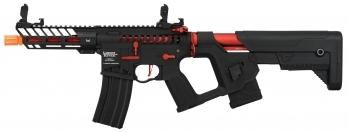 Lancer Tactical Enforcer NEEDLETAIL Skeleton AEG Red
