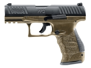 Walther PPQ M2 T4E .43 Paintball Marker Tan