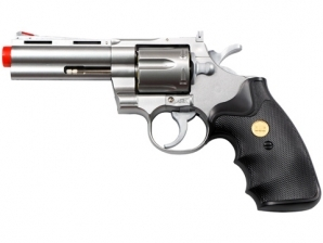 "UHC 937 4"" Airsoft Spring Revolver Silver"