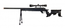 Well SR-1 Spring Bolt Action Sniper Rifle w/ Scope, Bipod & Sling