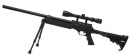 Well SR-2 Spring Bolt Action Sniper Rifle w/ Scope & Bipod